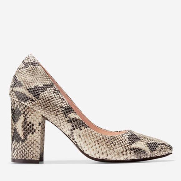 Cole Haan Haan Cole Schuhes   Eliree Snake Print Pump Heels Like New 6   Poshmark 1b3398